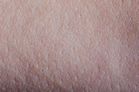 Photo pour Pink human texture surface macro close up view - image libre de droit