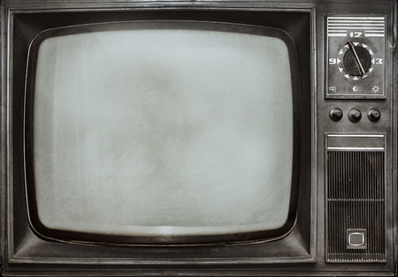 Photo for Old vintage TV - Royalty Free Image
