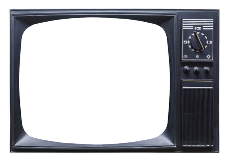 Photo pour Old retro tv set - image libre de droit