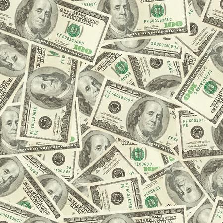 Dollars money seamless background