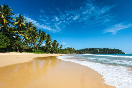Foto de Idyllic beach. Sri Lanka - Imagen libre de derechos
