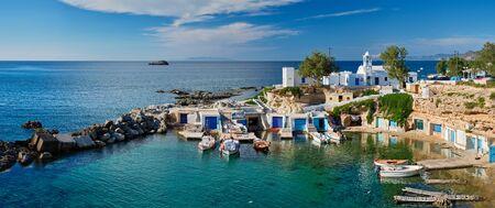 Photo for Mandrakia village in Milos island, Greece - Royalty Free Image