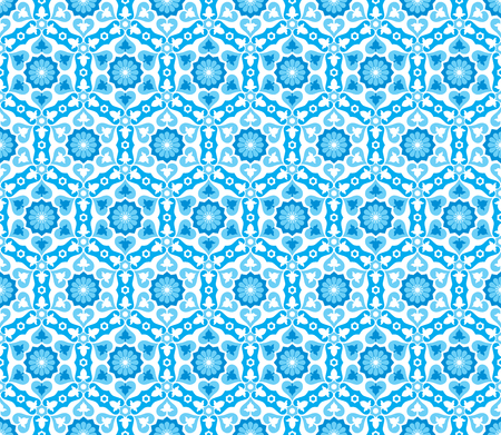 Illustration pour This moroccan pattern is used in architectural design. - image libre de droit