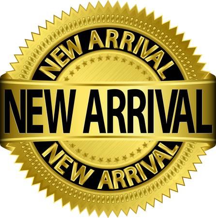 New new arrival golden label, illustration