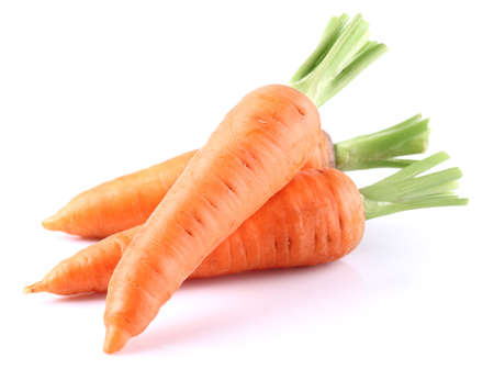Fresh carrot in closeup