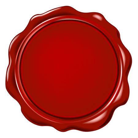 Illustration pour vector wax seal - image libre de droit
