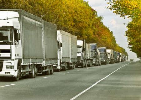 trucks caravan
