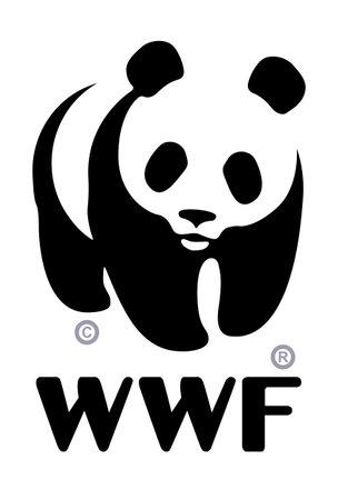 Photo pour World Wildlife Fund (WWF) logo - image libre de droit