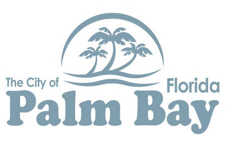 Coat of arms of Palm Bay is a city in Brevard County, Florida, USA. Vector illustration