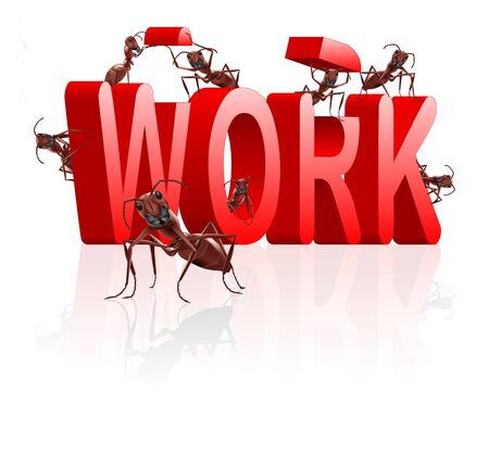 work working or career job and employment concept