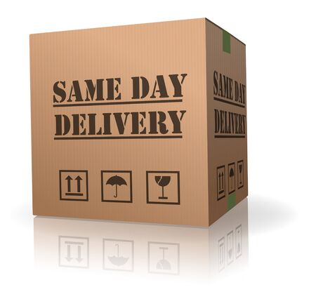 package delivery same day shipment urgent and quick
