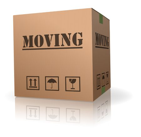 moving cardboard box
