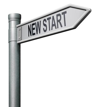 new start restart new beginning