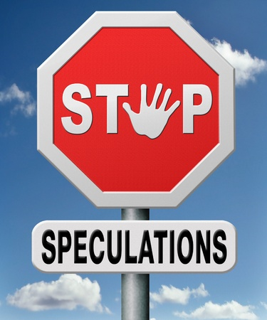 stop speculations taking a gamble on the stock market specalative transaction is a financial risk