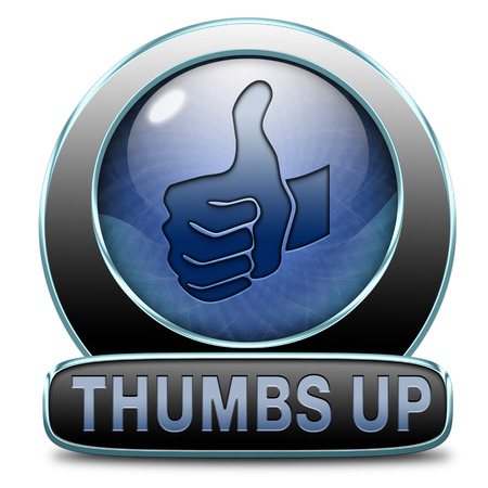 thumbs up icon or button
