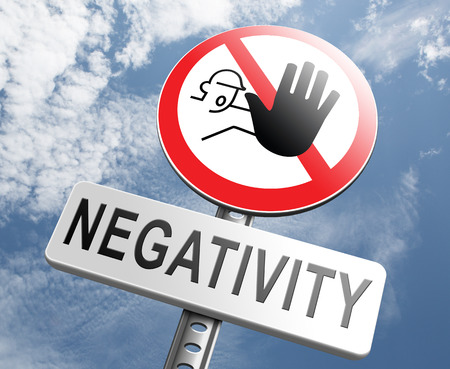Photo for no pessimism stop negativity think positive stop pessimistic thoughts dont think negative but positive and optimistic thinking makes you happy - Royalty Free Image