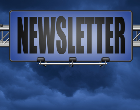newsletter latest news bulletin hot breaking and latest news icon