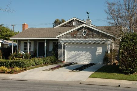 Suburban home, Newport Beach, California