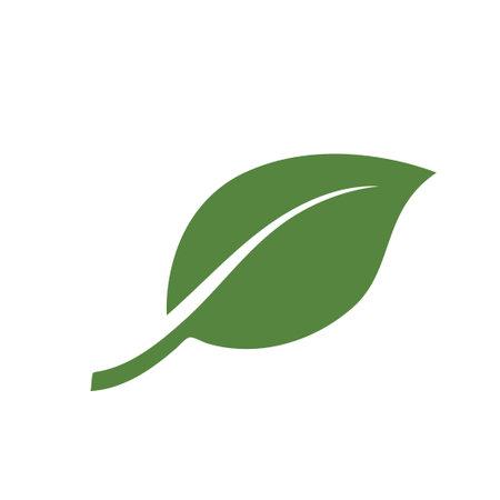 Illustration pour nature green leaf element vector icon. green leaves vector symbol design - image libre de droit