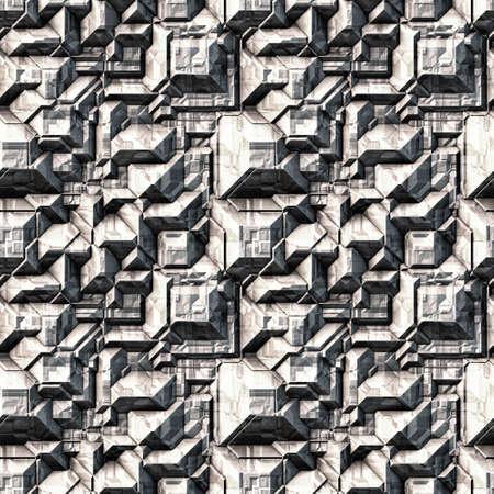 Stone Background Pattern, Techno (Seamless-Tiling)