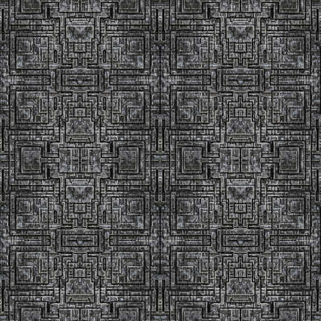 Metal Background Pattern, Techno (Seamless-Tiling)