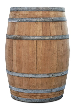 Barrel with clipping path