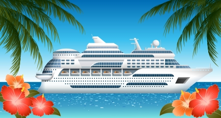 Cruise ship, file contains transparency