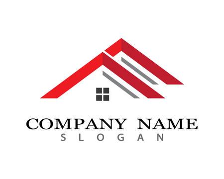 Vektor für Property Logo Template vector icon illustration design - Lizenzfreies Bild