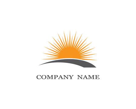Illustration pour Sun logo template vector icon illustration design - image libre de droit