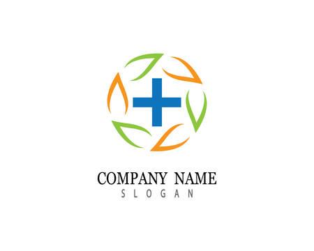 Illustration pour Medical logo template vector icon illustration design - image libre de droit