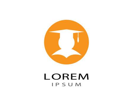 Illustration pour Education logo template vector icon illustration design - image libre de droit