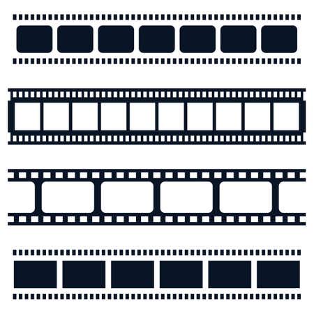 Illustration pour Filmstrip vector icon illustration design - image libre de droit