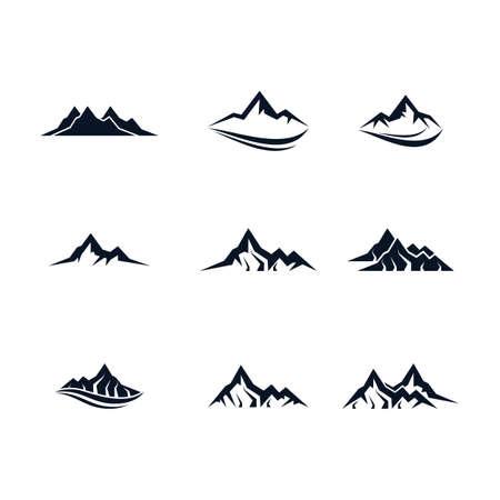 Illustration pour Mountain vector icon illustration design - image libre de droit