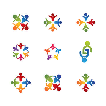 Illustration for Community vector icon illustration design - Royalty Free Image