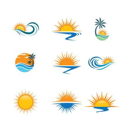 Illustration pour Summer symbol vector icon illustration - image libre de droit