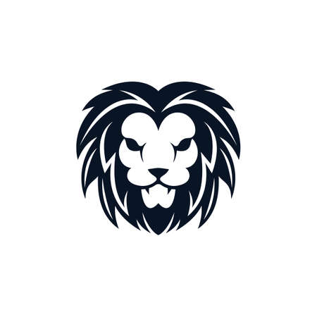 Illustration for Lion head vector icon illustration - Royalty Free Image