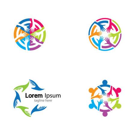 Illustration pour Teamwork vector icon illustration design - image libre de droit
