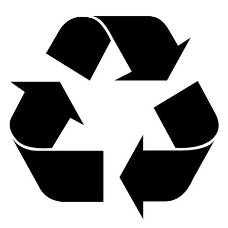 Recycling symbol for web or design use