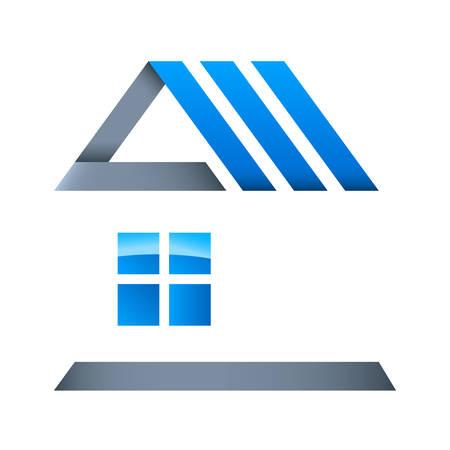 Foto de real estate - vector icon - Imagen libre de derechos