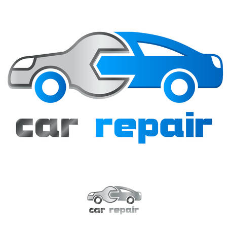 Ilustración de service station / car repair icon - Imagen libre de derechos