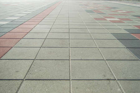 Photo for gray paving tiles background - Royalty Free Image
