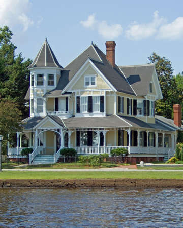 A fully restored Victorian House.