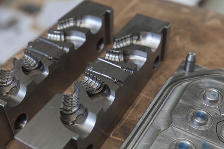 Photo pour Metal tool for molding rubber products - image libre de droit