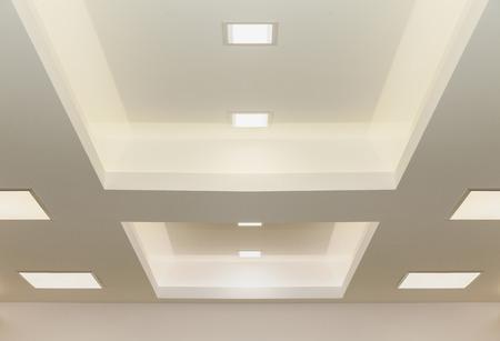 Photo pour modern ceiling lights, graphic background - image libre de droit