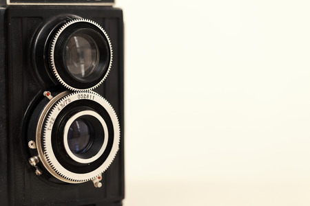 Foto für old vintage film camera, copy space close up - Lizenzfreies Bild