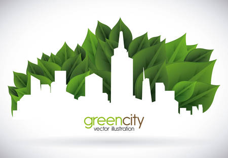 eco concept design, vector illustration eps10 graphic