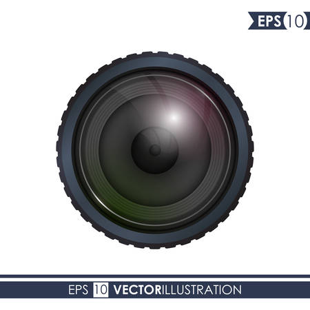Camera concept with icon design, vector illustration 10 eps graphic.