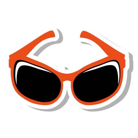 sunglasses modern style isolated icon vector illustration design