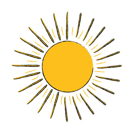 Sun burst light icon vector illustration graphic design
