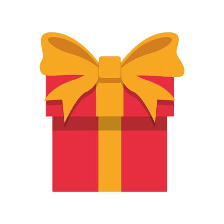 Illustration pour Gift box present icon vector illustration graphic design. - image libre de droit